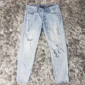 Abercrombie & Fitch Boyfriend Straight Jeans D1